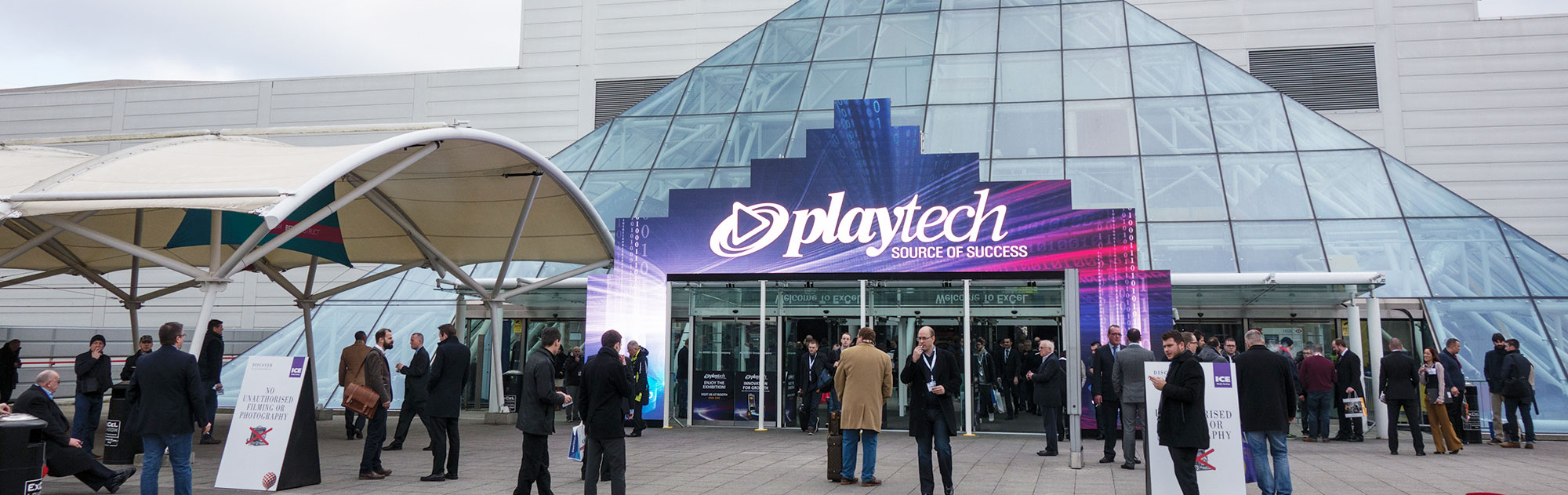 YSLV's Digital Entrance at Excel London for the ICE Totally Gaming Show