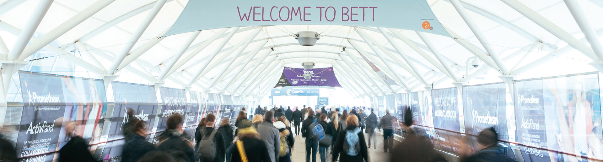 AV and LED Screens Hire for BETT at ExCeL, London