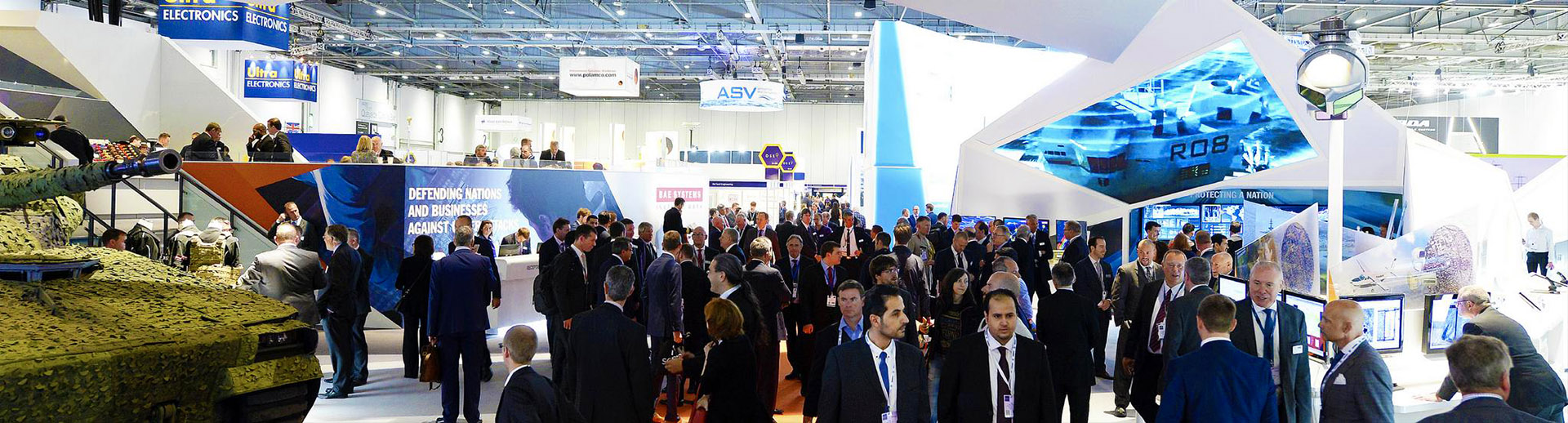 AV and LED Screens Hire for DSEI at ExCeL London