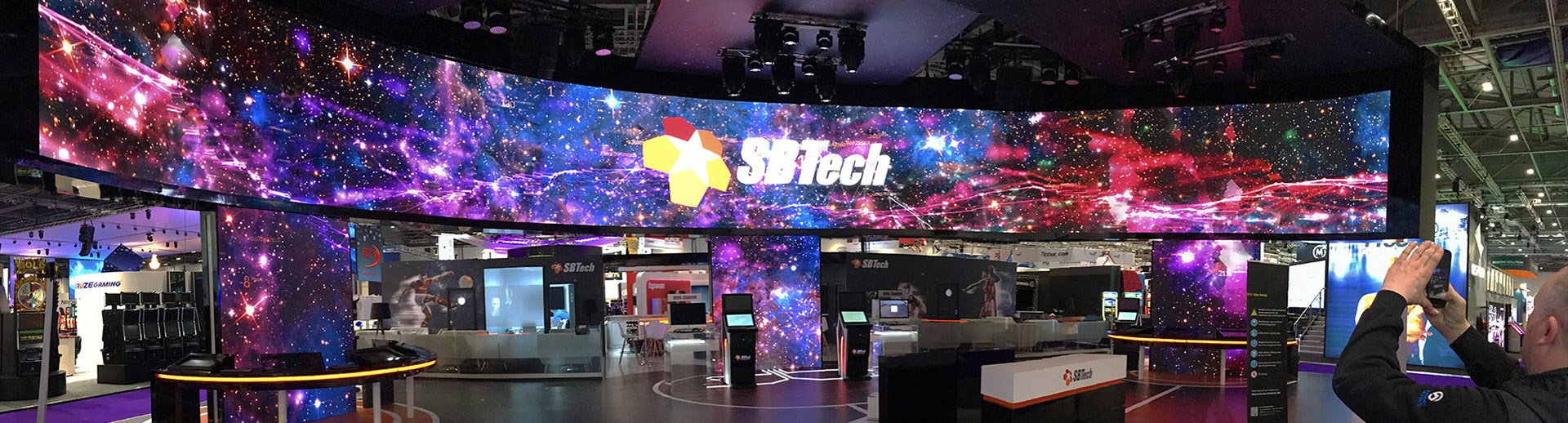 AV and LED Screens Hire for ICE 2018 at ExCeL, London