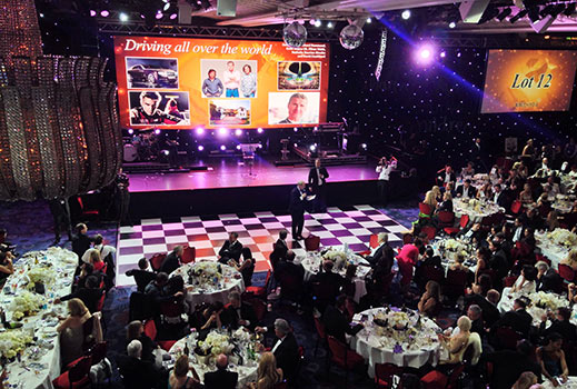 Charity Ball LED Screen