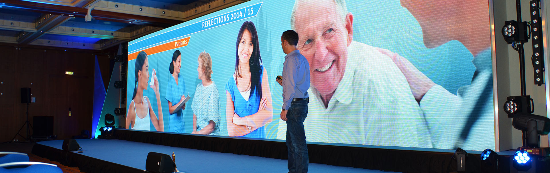 Conference LED Screen hire