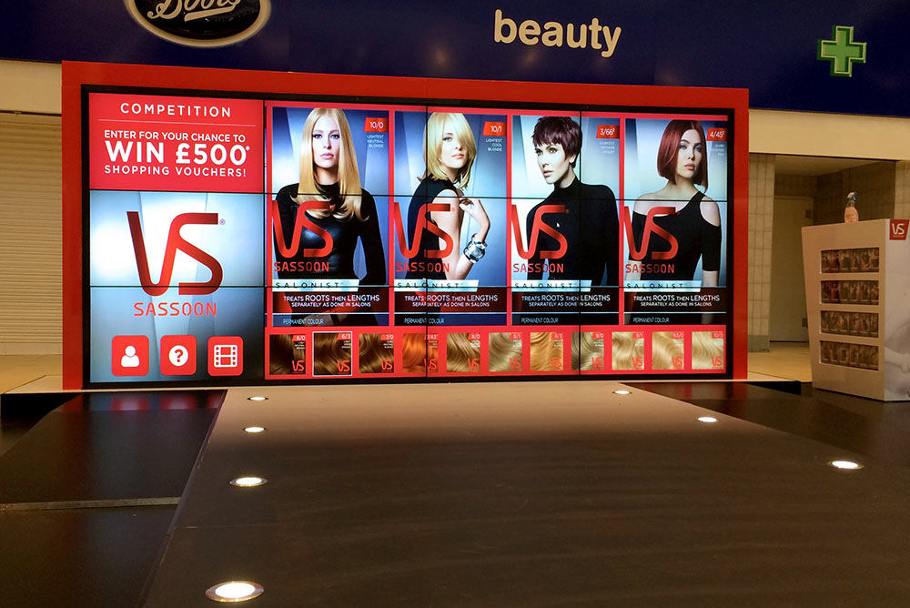 Seamless Video Wall Hire - for events and exhibitions