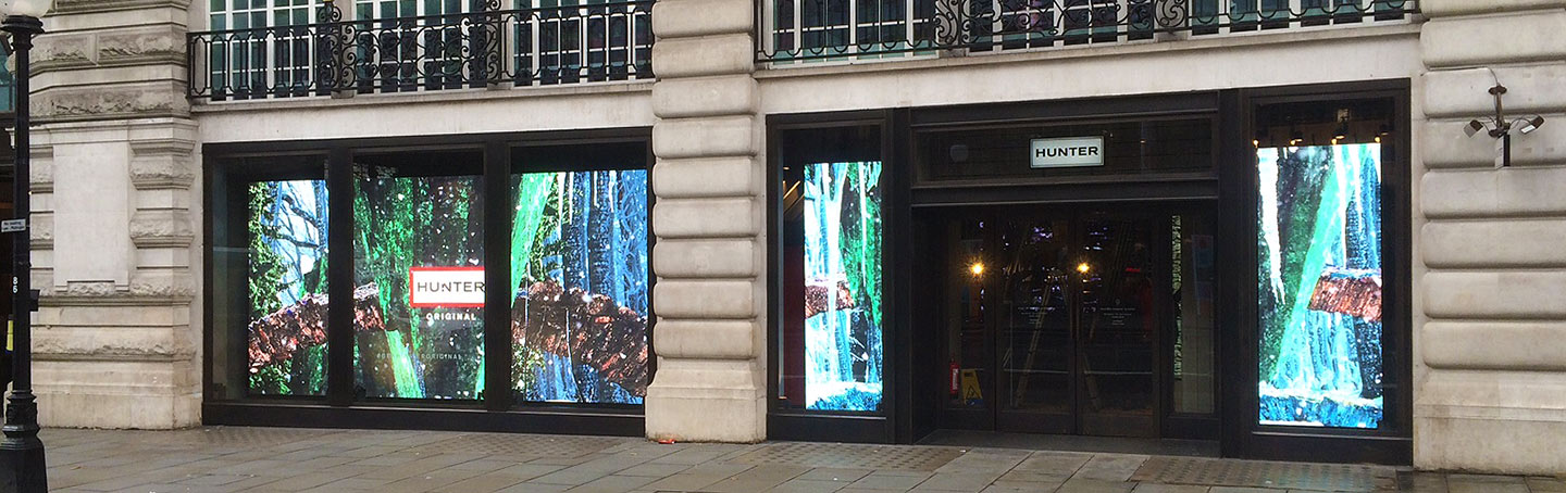 Hunters Regent Street LED Display