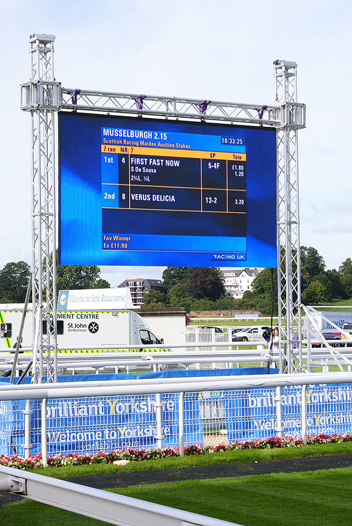 Led screen hire high resolution outdoor screens big for Exterior led screen
