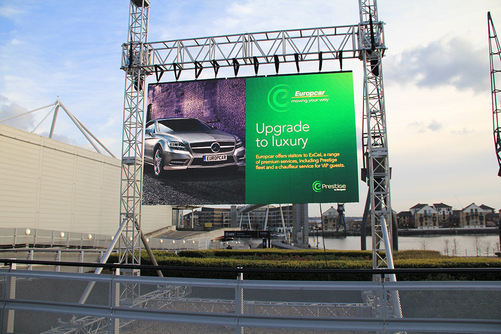 V lite r9 high resolution outdoor led screen for hire for Exterior led screen