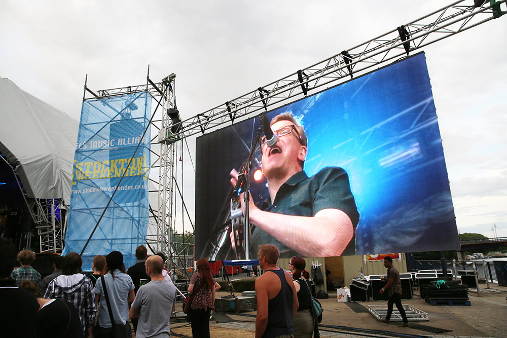 Outdoor LED Screen Hire, Big Screen hire by the LED ...